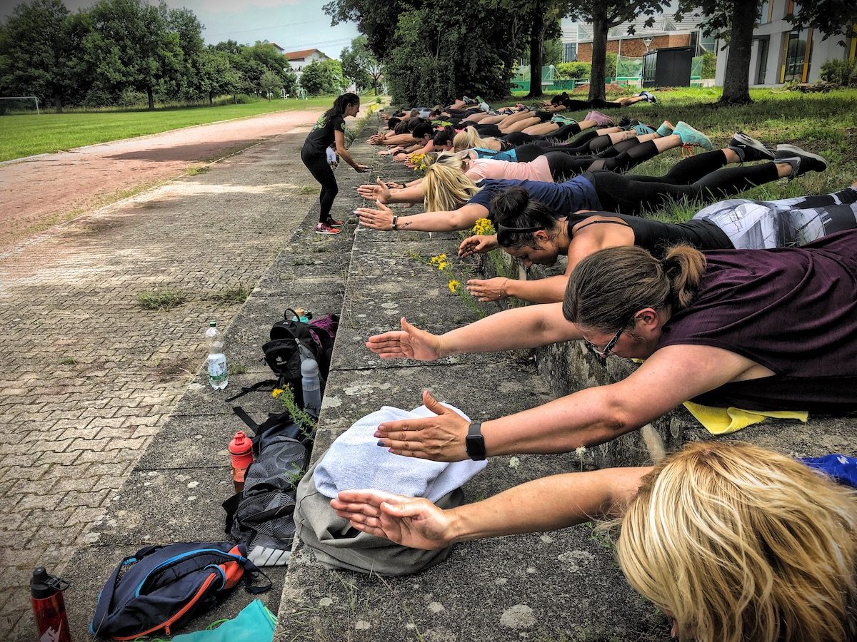 generation athletic outdoor workout power
