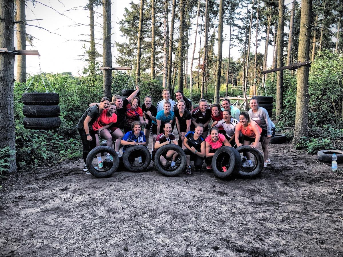 generation athletic training im freien mannschaften
